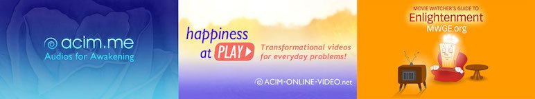 ACIM Teachings Audio Video Movie Watcher's Guide to Enlightenment